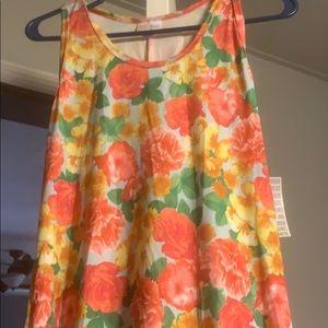 Medium lularoe Dani tank maxi dress. NWT